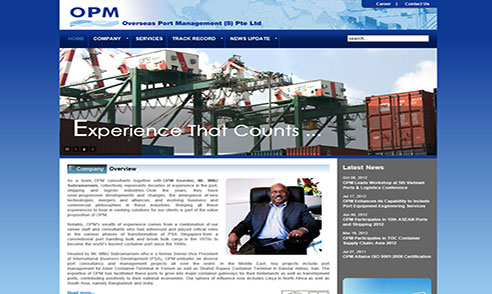 Overseas Port Management