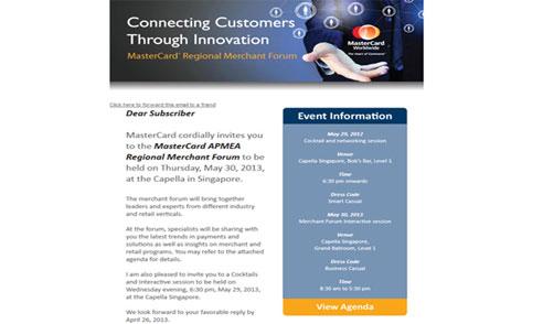 MasterCard Regional Merchant Forum