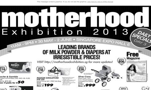 Motherhood Exhibition 2013