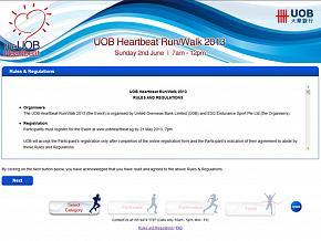 UOB Heartbeat Run/Walk 2013 UOB Heartbeat Run/Walk 2013