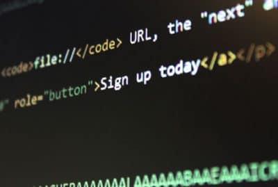 website design code