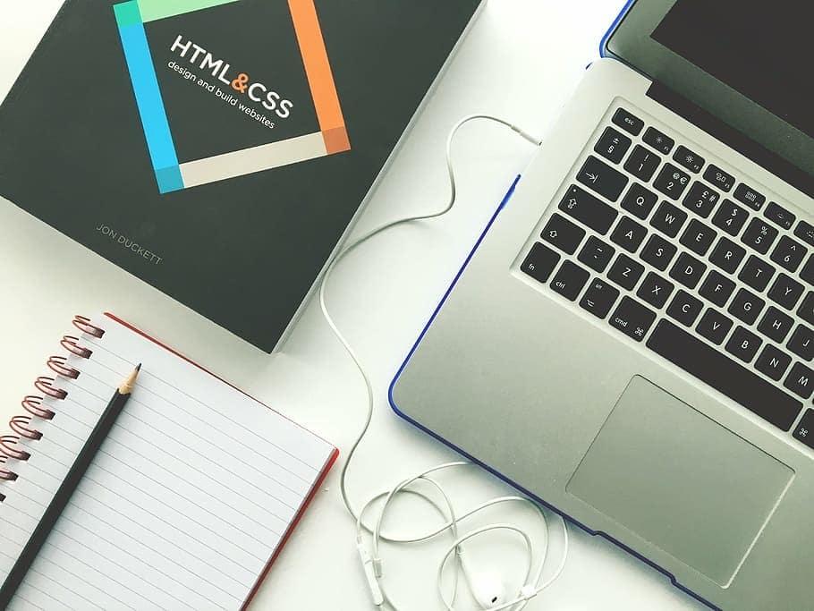 laptop equipment for web design